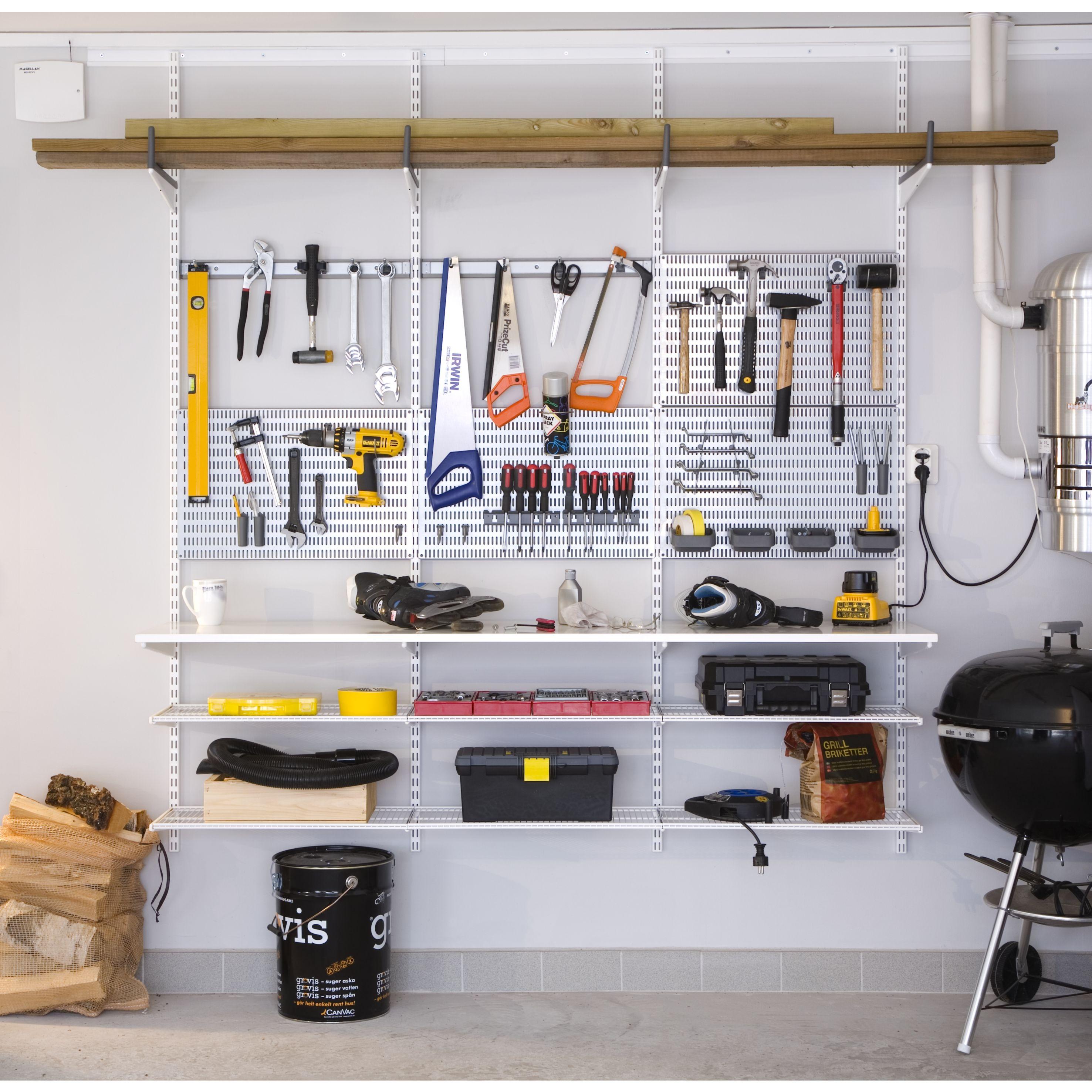 garage art ideas - ment ranger ses outils sur son etabli avec les kits